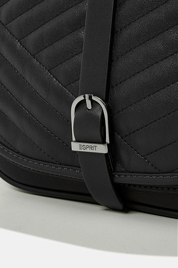 Susie T. shoulder bag, BLACK, detail image number 3