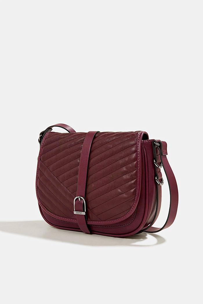 Susie T. shoulder bag, BORDEAUX RED, detail image number 2