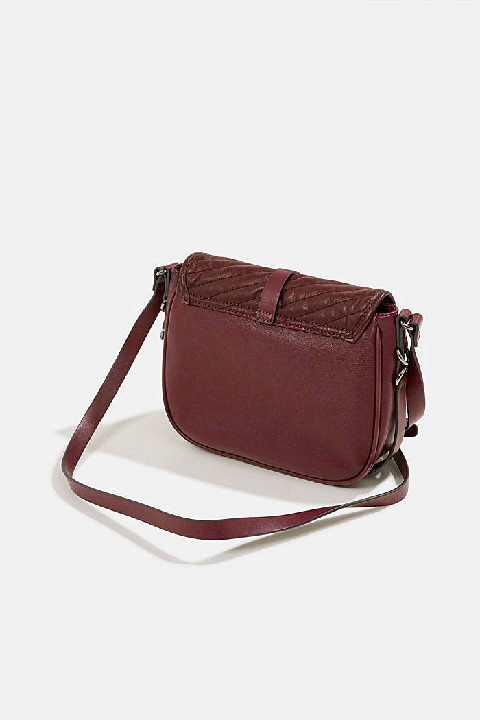 Susie T. shoulder bag, BORDEAUX RED, detail image number 5