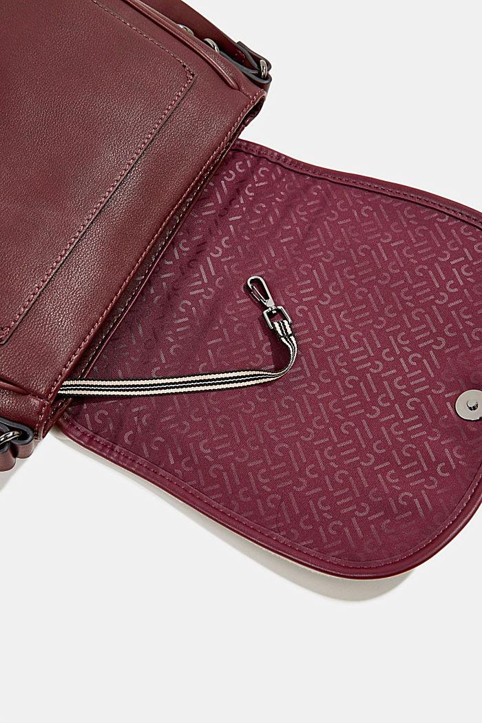 Susie T. shoulder bag, BORDEAUX RED, detail image number 4