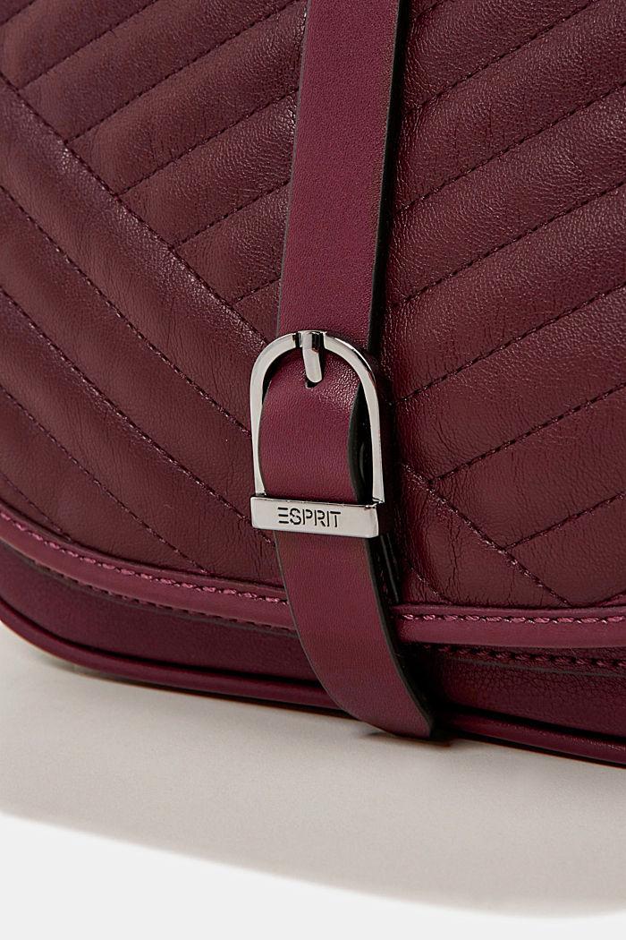 Susie T. shoulder bag, BORDEAUX RED, detail image number 3