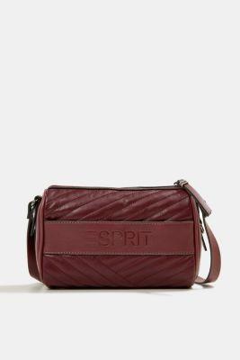 Minnesota shoulder bag, BORDEAUX RED, detail