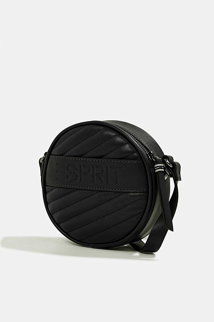 Minnesota T. round shoulder bag, BLACK, detail image number 2