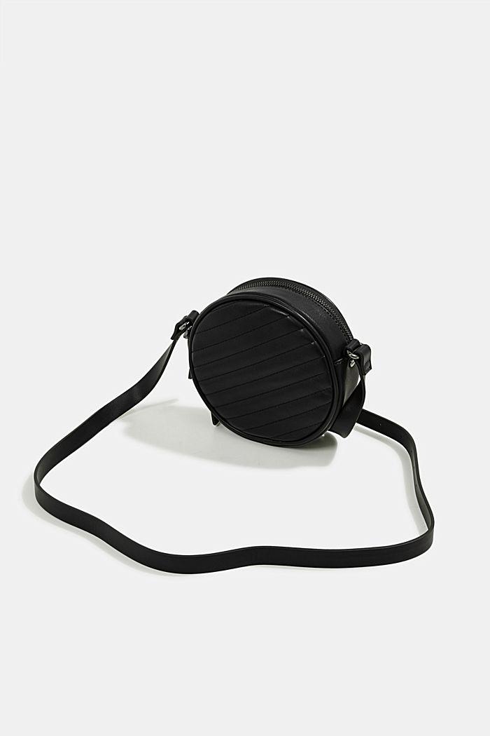 Minnesota T. round shoulder bag, BLACK, detail image number 5