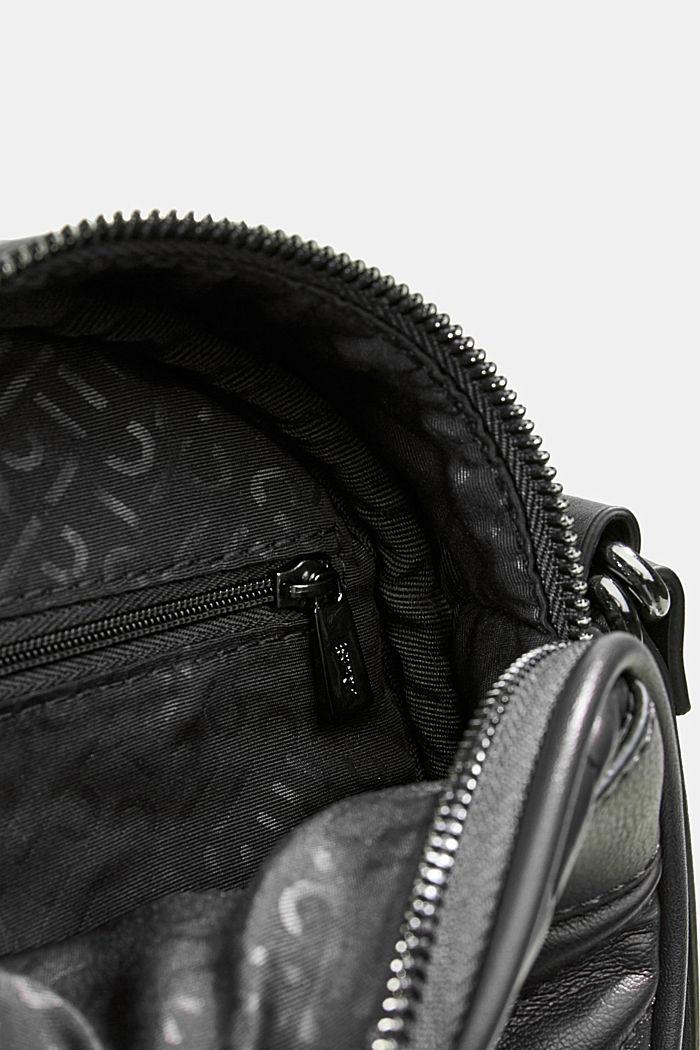 Minnesota T. round shoulder bag, BLACK, detail image number 4