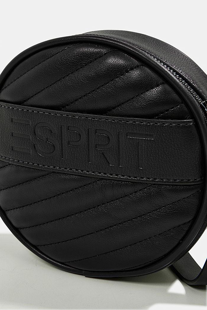 Minnesota T. round shoulder bag, BLACK, detail image number 3