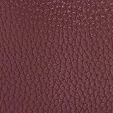Faux leather shoulder bag, BORDEAUX RED, swatch
