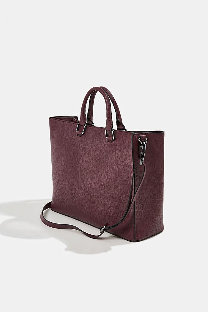 Veganský produkt: business taška s obalem na notebook, BORDEAUX RED, detail image number 5