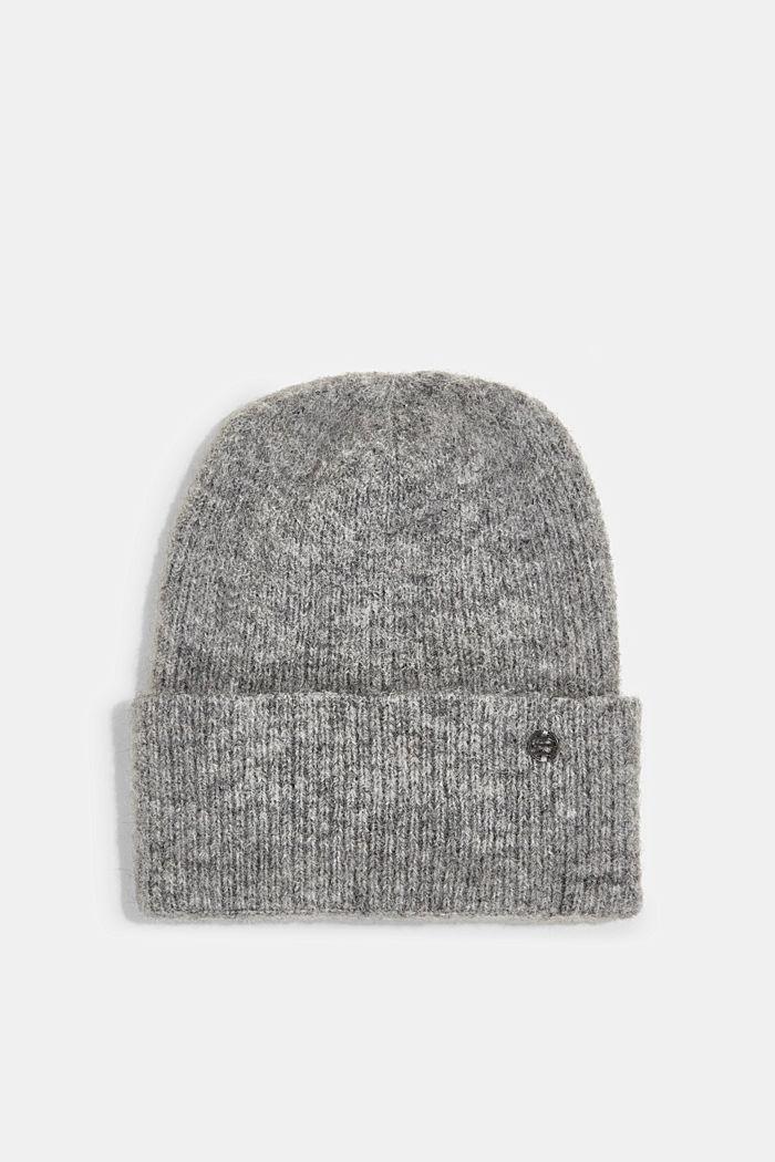 Wool blend: alpaca blend beanie