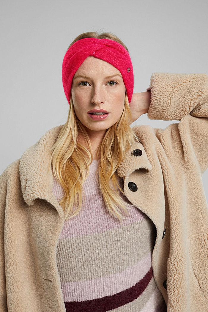 Wool blend: alpaca blend headband