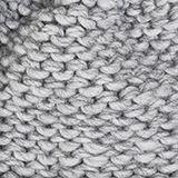 Alpaca-wool blend: hat with faux fur pompom, LIGHT GREY, swatch