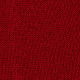 With cashmere: wool blend beanie, RED, swatch