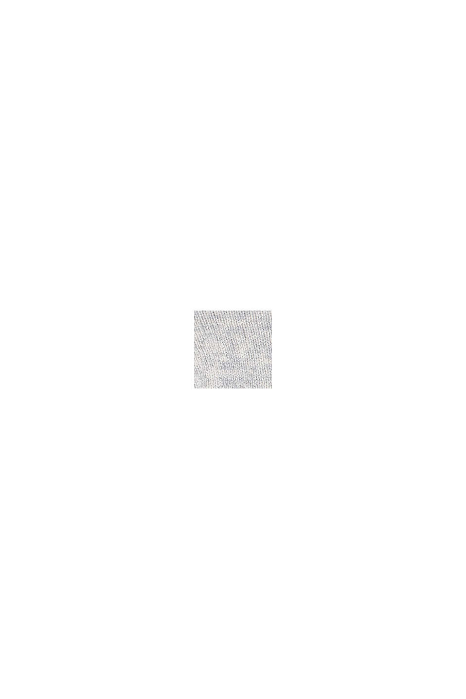 Met kasjmier: hoofdband van een wolmix, PASTEL GREY, swatch