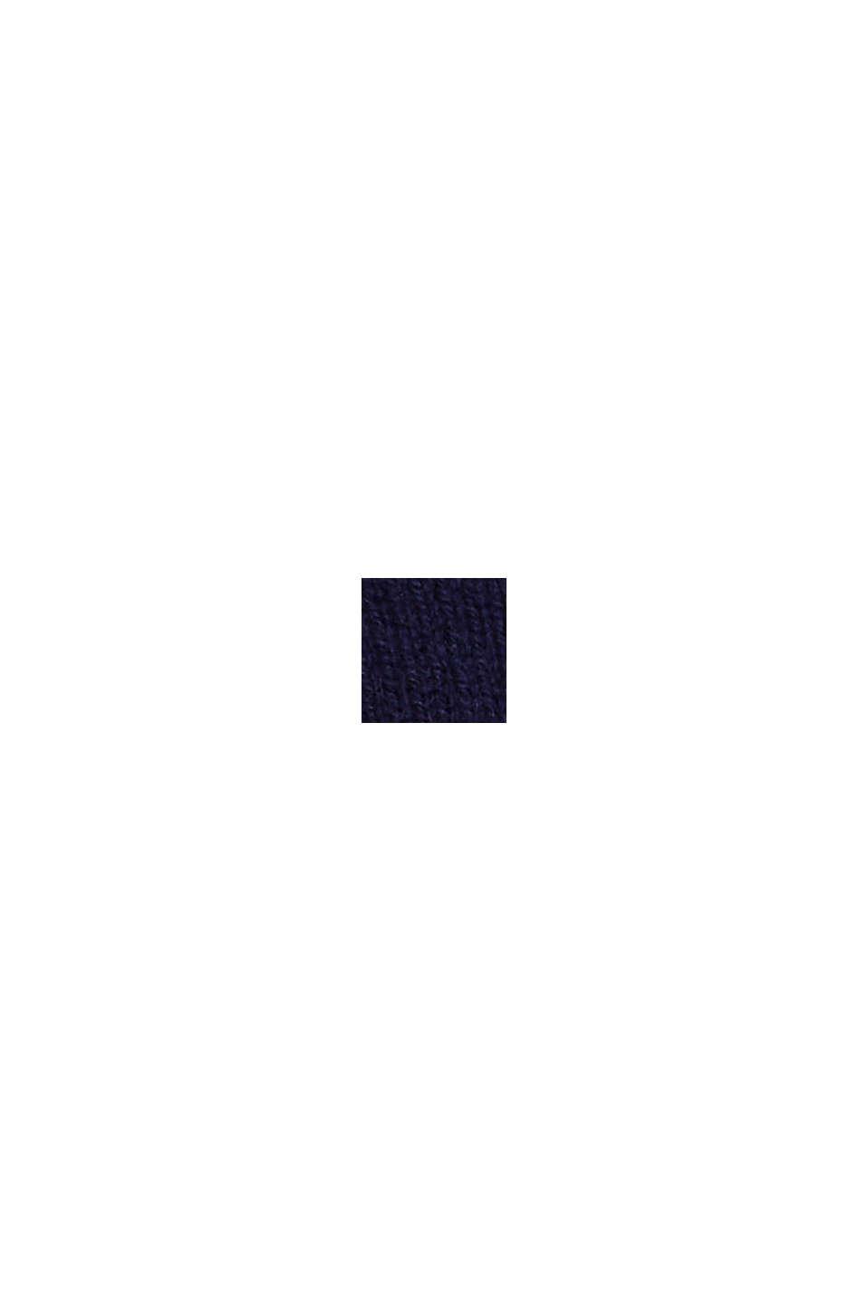 À teneur en cachemire: le bandeau en laine mélangée, DARK BLUE, swatch