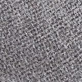 Recycled: Wool-effect woven scarf, GUNMETAL, swatch