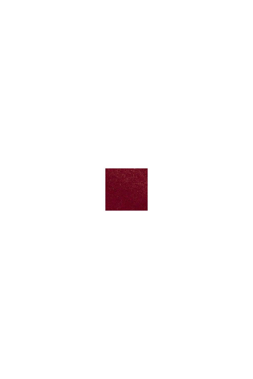 Schal mit mit LENZING™ ECOVERO™, GARNET RED, swatch