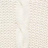 Knit poncho with alpaca, OFF WHITE, swatch