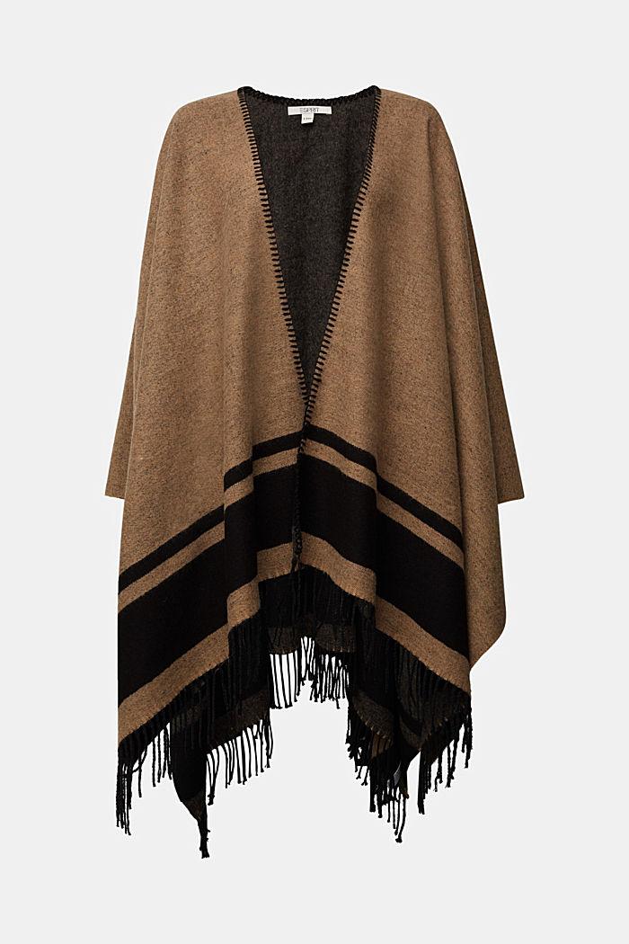 Shawls/Scarves, CAMEL, detail image number 0