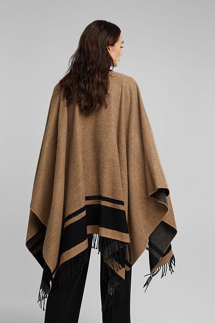 Shawls/Scarves, CAMEL, detail image number 4