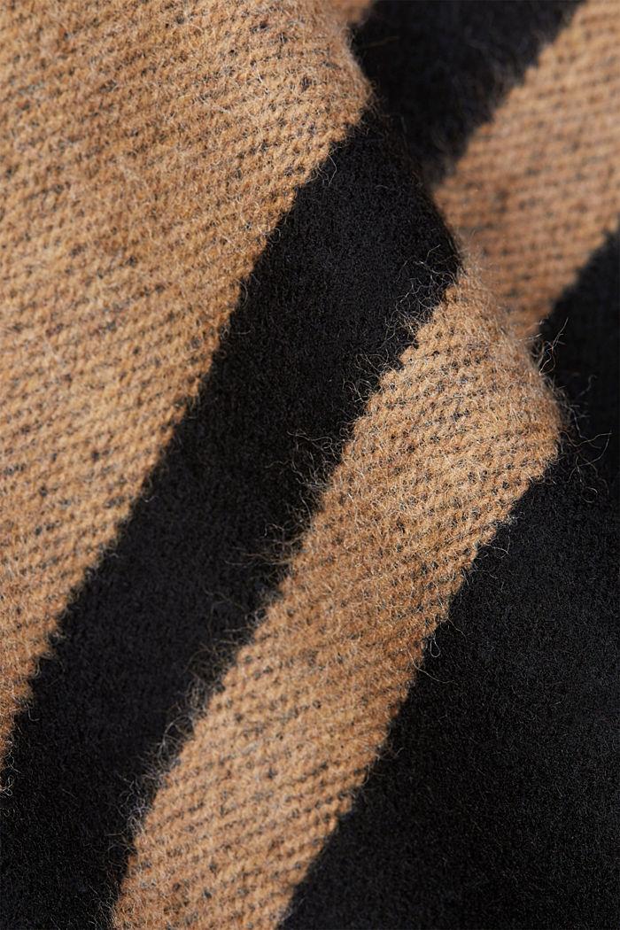 Shawls/Scarves, CAMEL, detail image number 2