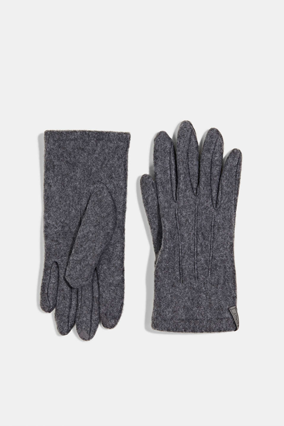 Esprit - Touchscreen fleece gloves