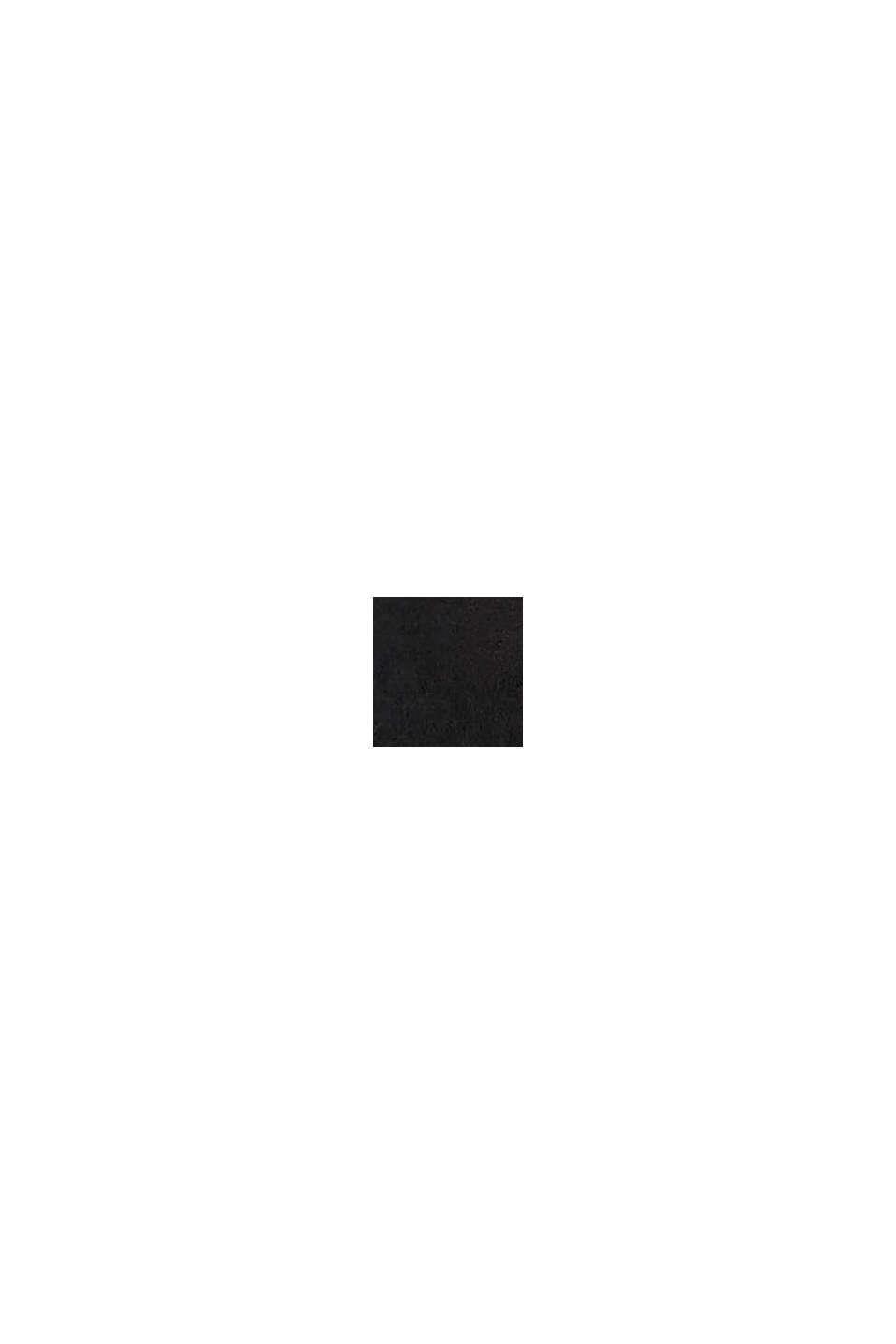 Smalle riem van leer, BLACK, swatch