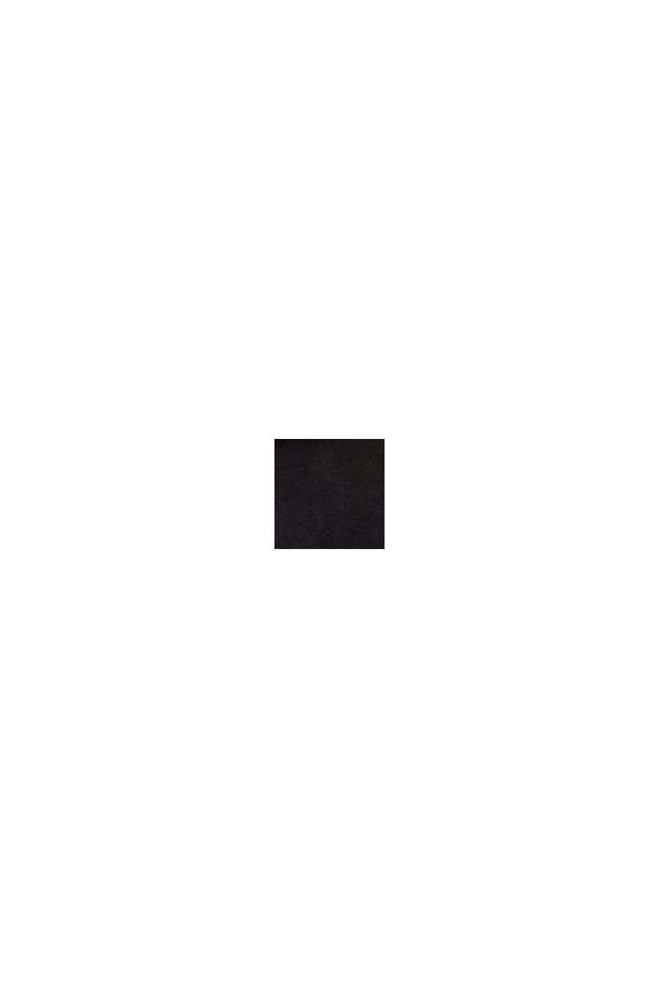 Narrow leather belt, BLACK, swatch