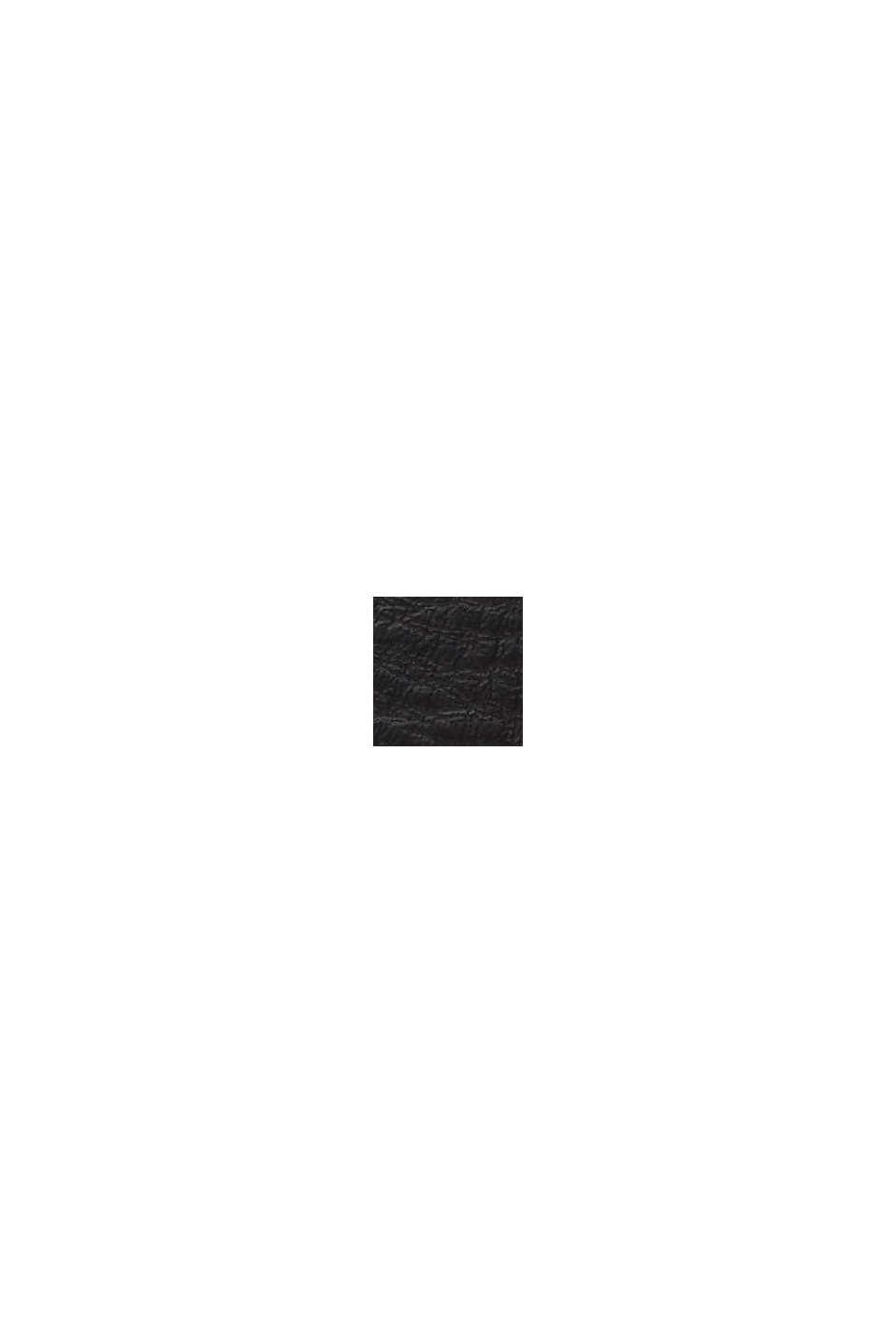 Breiter Gürtel aus 100% Leder, BLACK, swatch