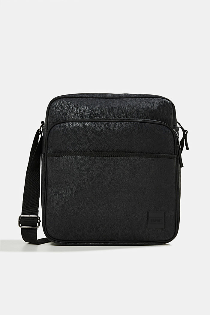 Vegan: Flug-Tasche in Leder-Optik