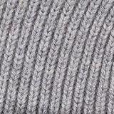 Beanie in 100% wool, GREY, swatch