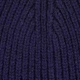 Beanie in 100% wool, NAVY, swatch