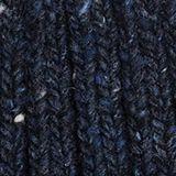 Mit Wolle und Alpaka: Strick-Mütze, NAVY, swatch
