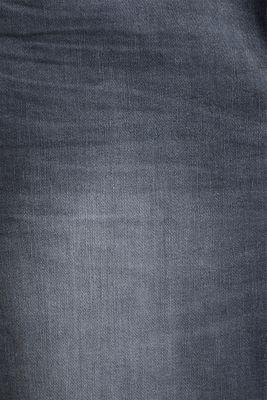Stretch jeans in organic cotton, GREY DARK WASHED, detail