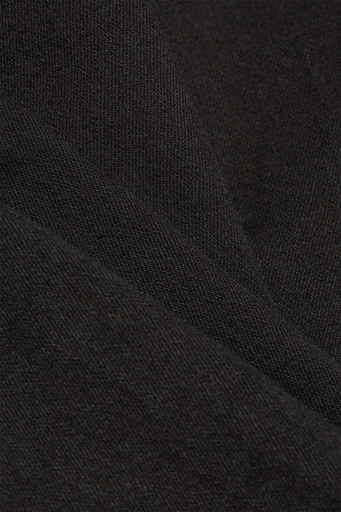 Jeans skinny in cotone biologico, BLACK RINSE, detail image number 4