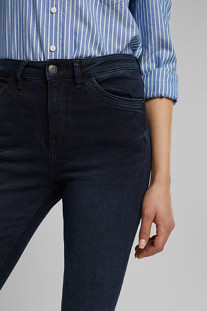 Pants denim, BLUE BLACK, detail image number 2