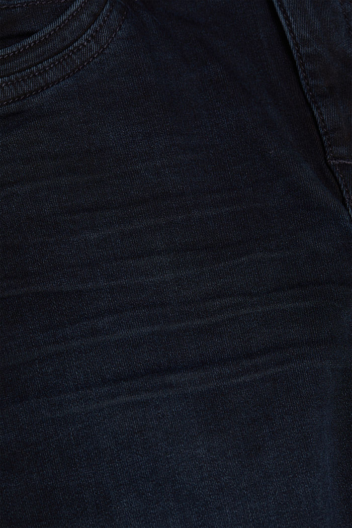 Pants denim, BLUE BLACK, detail image number 4