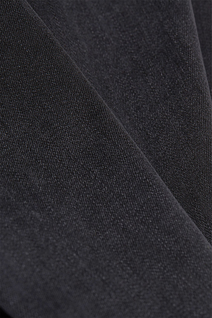 Stretch jeans containing organic cotton, BLACK RINSE, detail image number 4