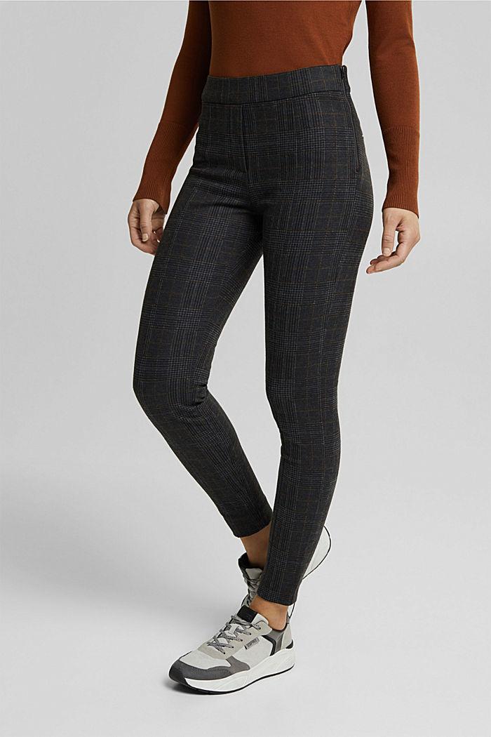 Trousers, GUNMETAL, detail image number 0