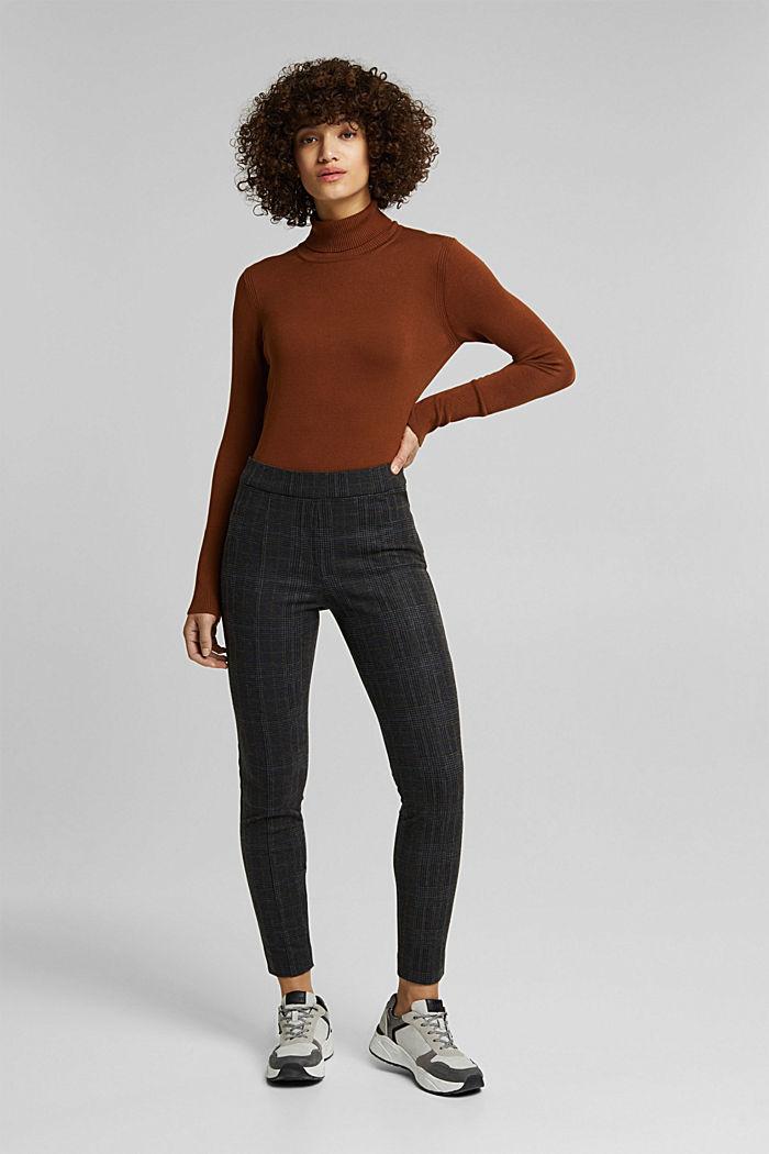 Trousers, GUNMETAL, detail image number 5