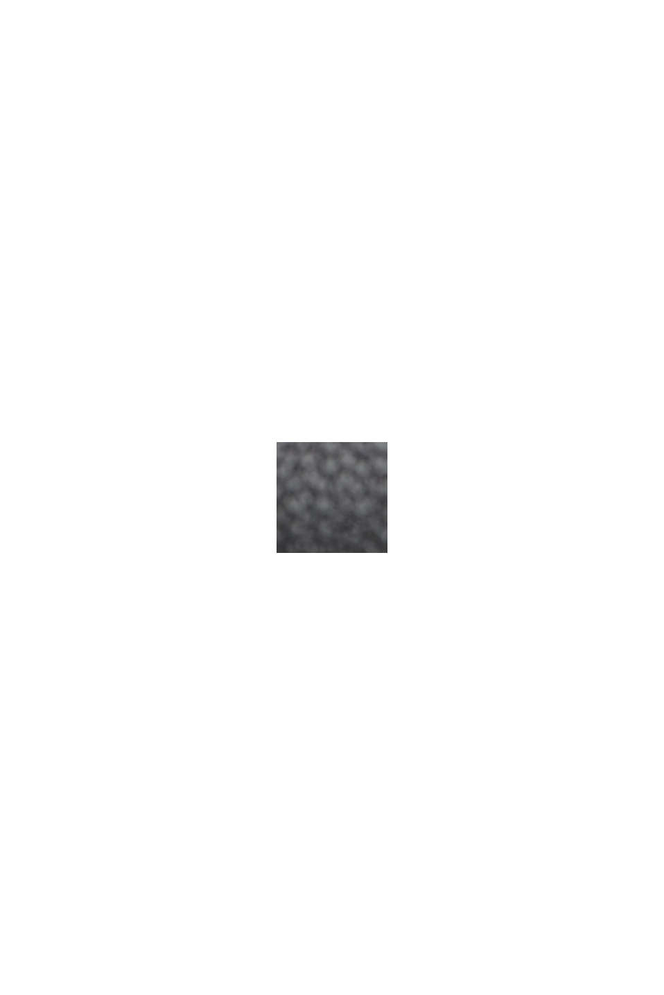 Culottebyxa i skinnlook, BLACK, swatch