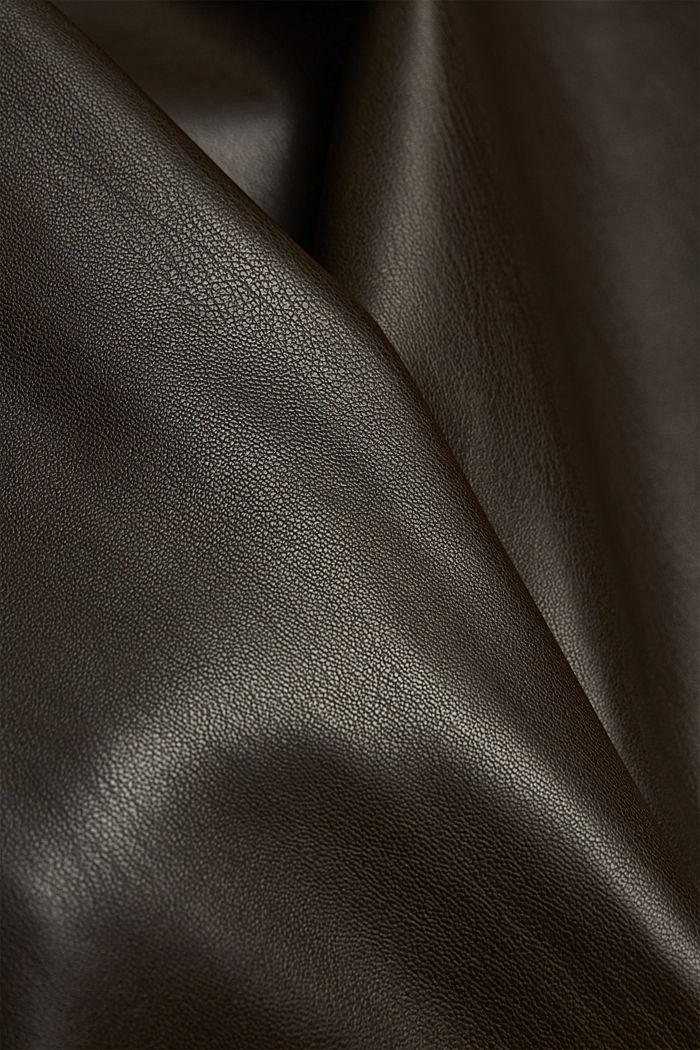 Culotte in Lederoptik, BROWN, detail image number 4