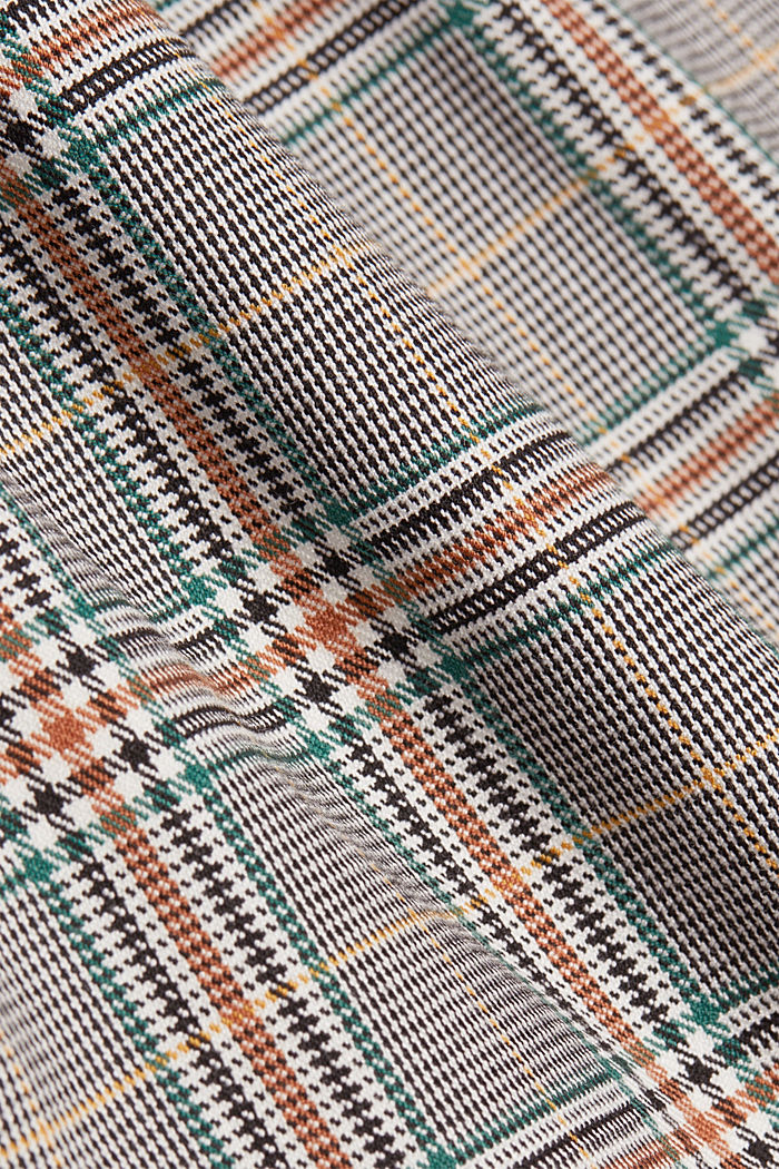 Recycled: NEW CHECK mix + match chinos, DARK GREEN, detail image number 3