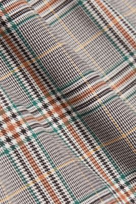 Recycled: NEW CHECK mix + match chinos, DARK GREEN, detail