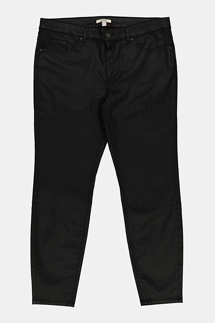 Skinny trousers with organic cotton