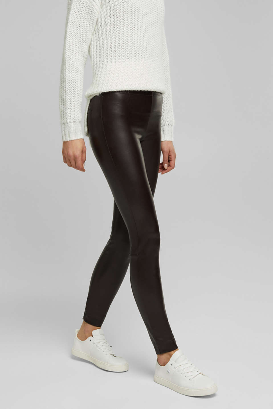 Esprit - Leggings de polipiel