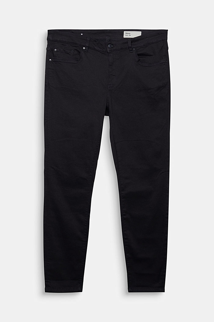 Pants denim Oversized fit, BLACK, detail image number 1