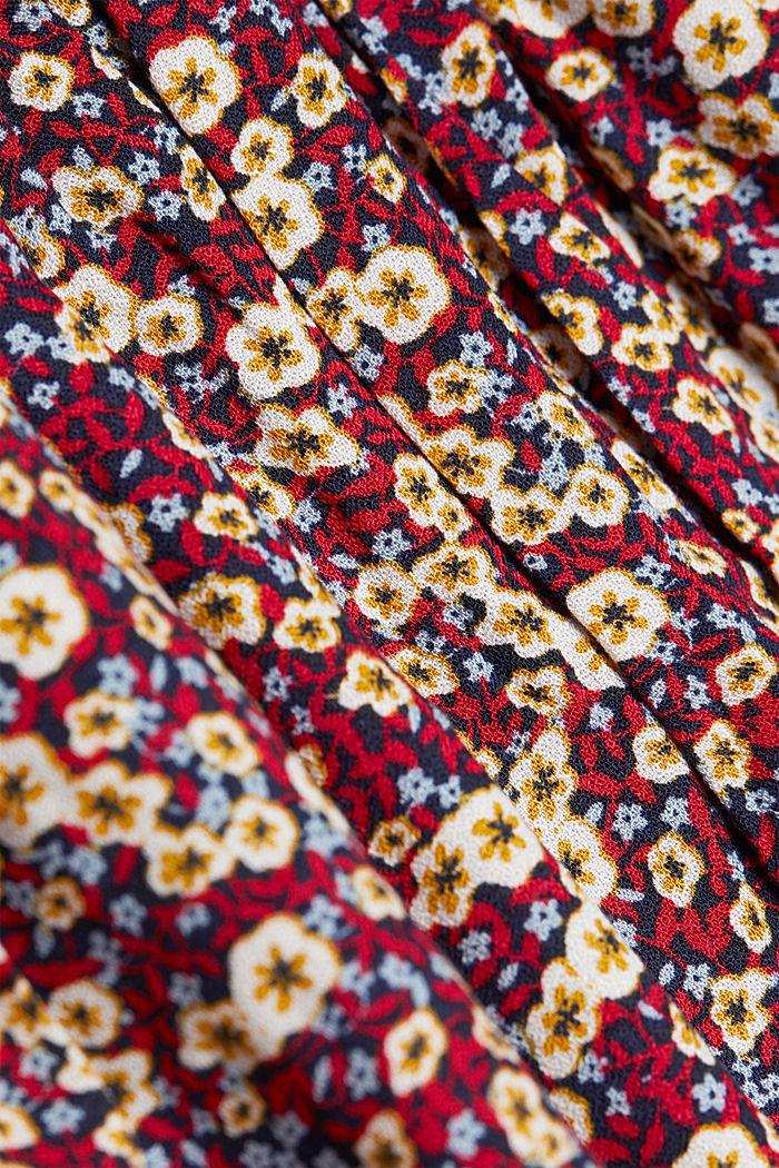 Mini skirt made of LENZING™ ECOVERO™, NAVY, detail image number 3