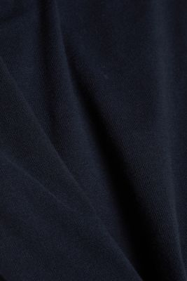 Knitted dress made of 100% organic cotton, NAVY 4, detail