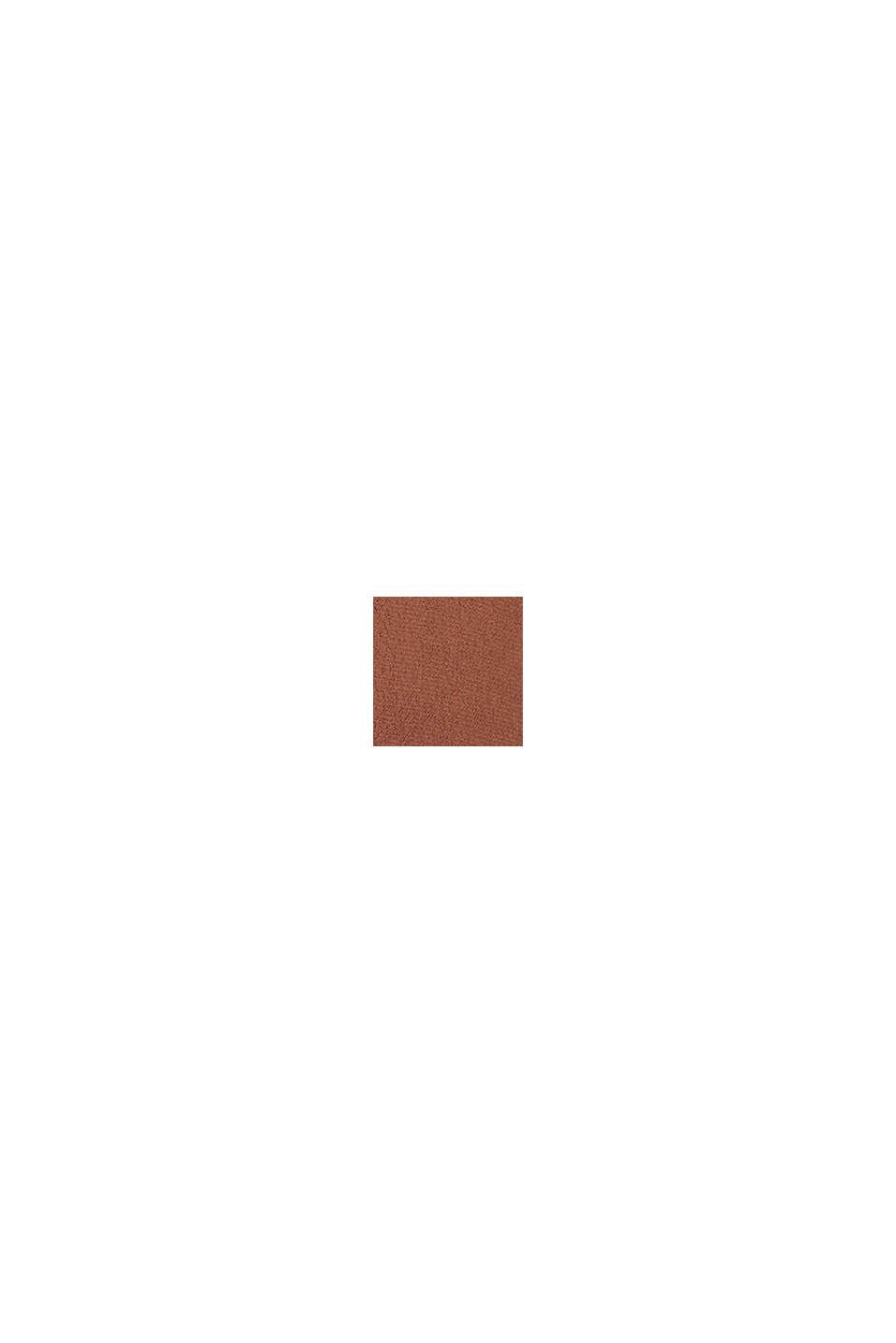 Puseromekko LENZING™ ECOVERO™ -materiaalia, BROWN, swatch