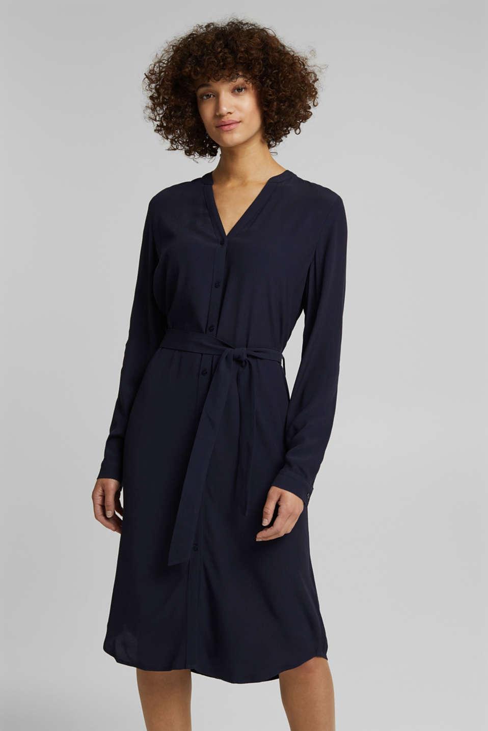 Esprit - Blusenkleid aus LENZING™ ECOVERO™ im Online Shop ...